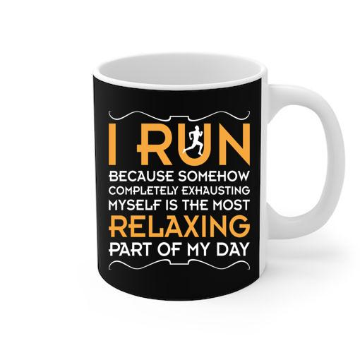 Roadrunner Runs Fast White Mug
